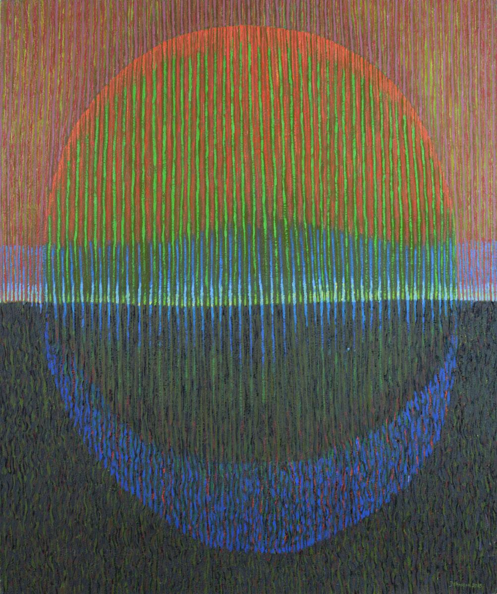 Landscape 2015-3, 100x120 cm