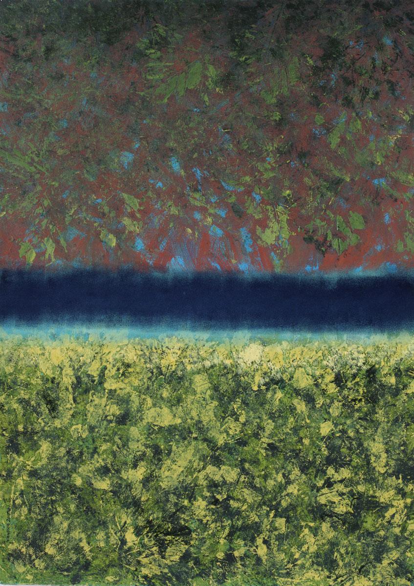 Autumn landscape-1, 50x70 cm