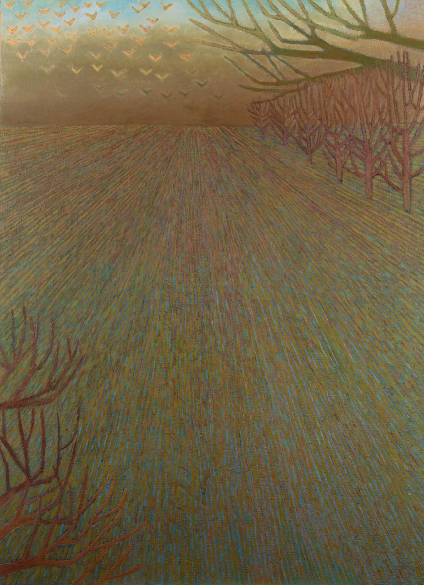 Pejzaż jesienny, 150x110 cm